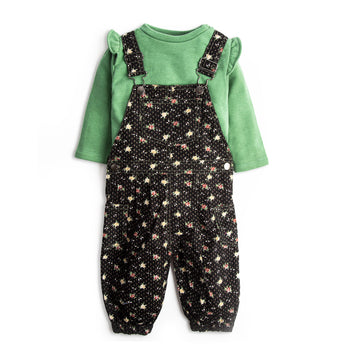 Green Overall Set