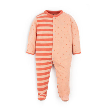 Salmon Sleepsuit