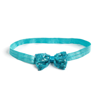Sequins Bow Hairband