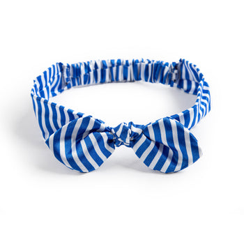 Blue Stripe Hairband