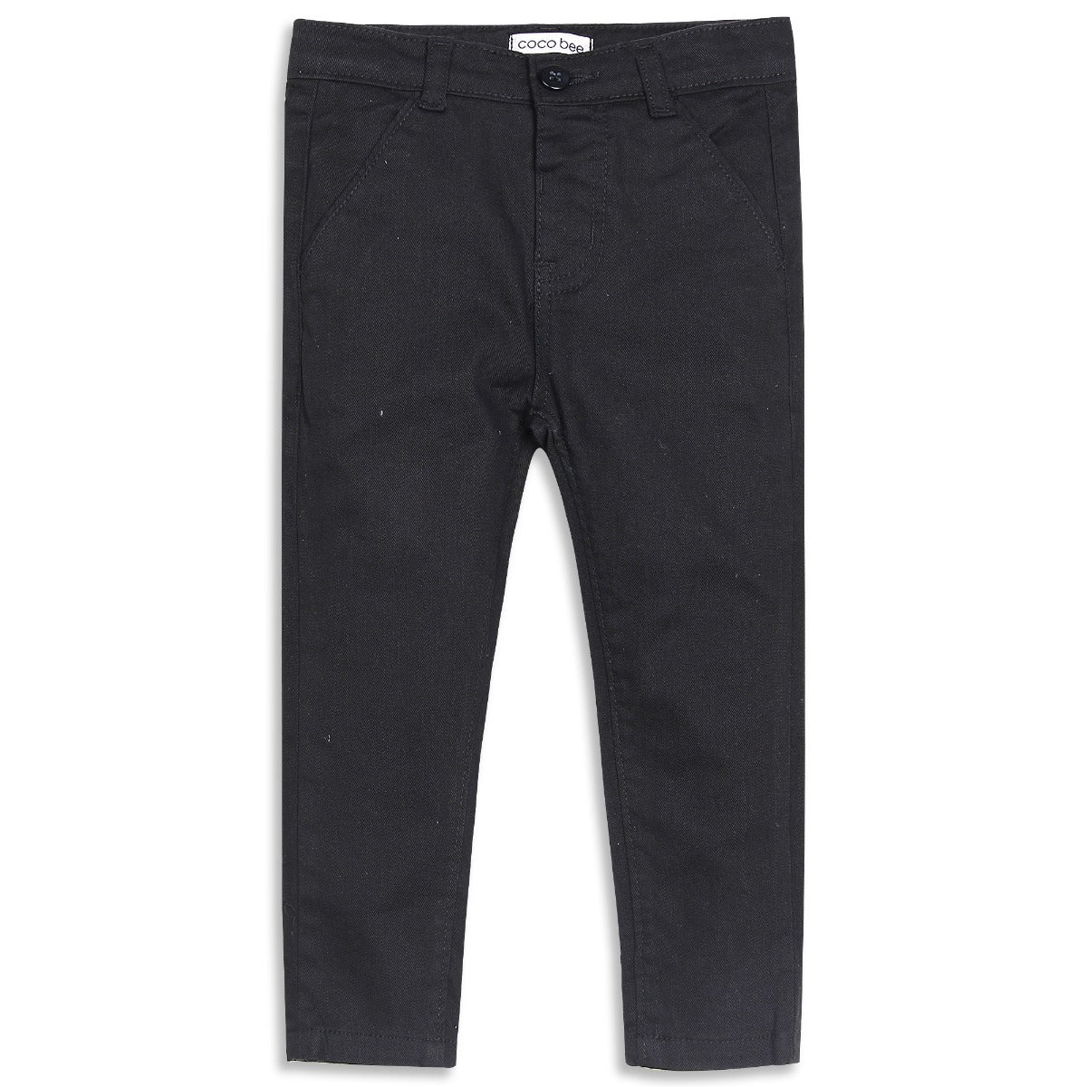 Black Chino 5 Pocket Pant