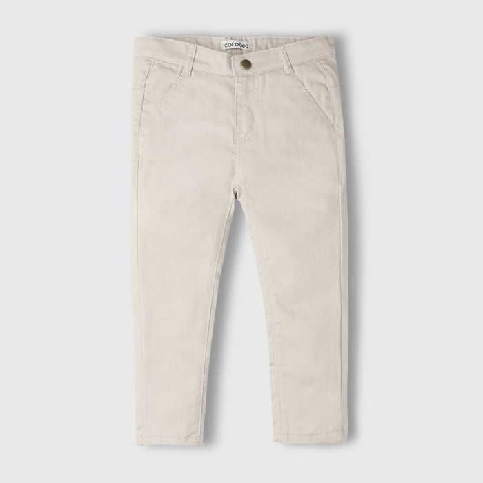 Off White Chino Pants