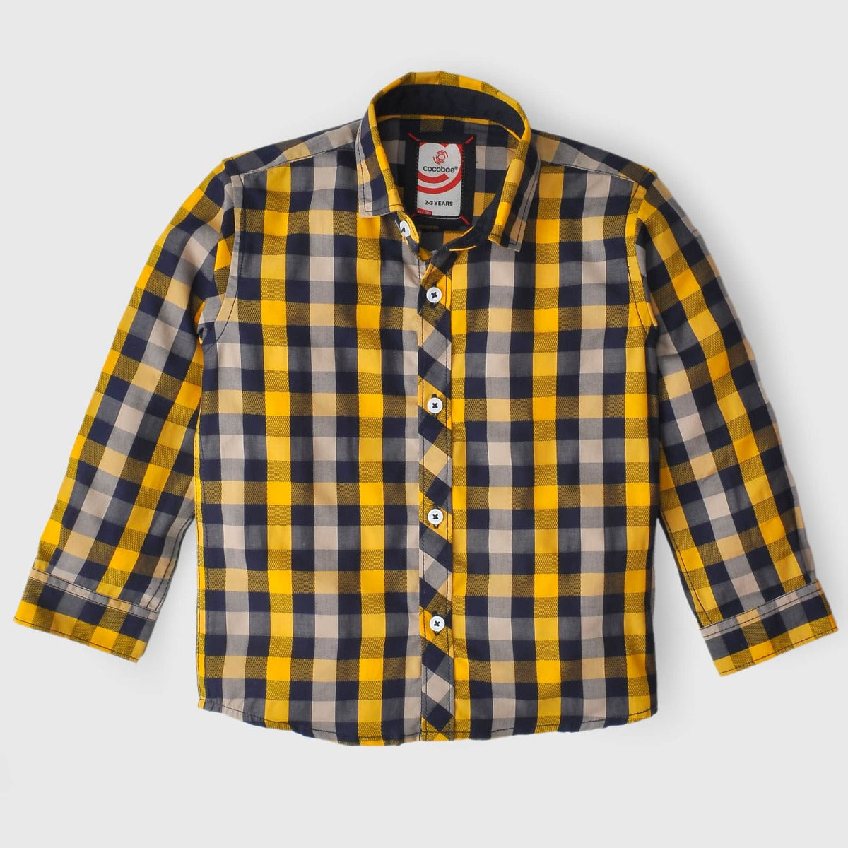 Yellow Box Check Shirt