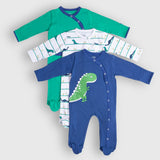 Friendly Dino Romper Set