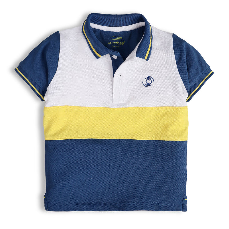 Tri-colored Polo
