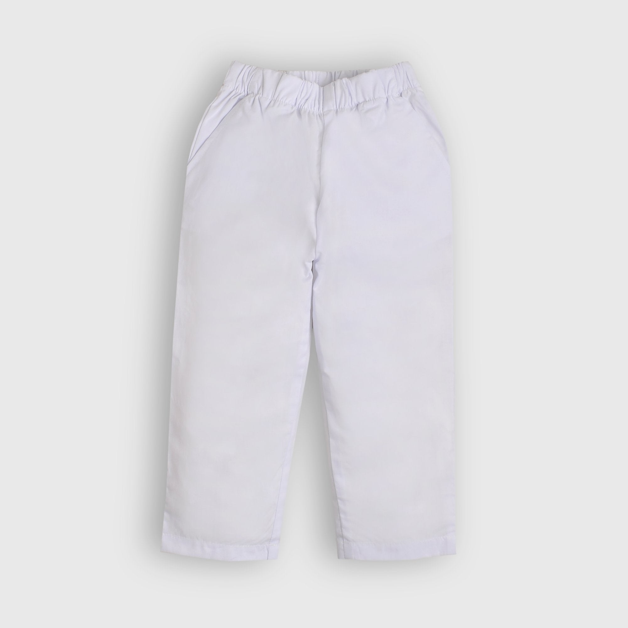 Basic White Trouser