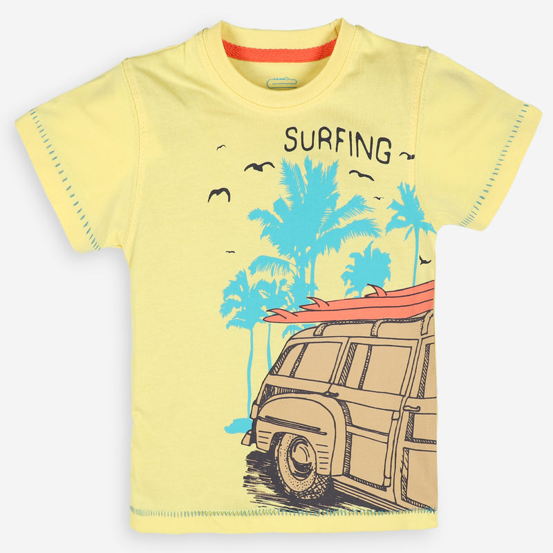 Surfing Graphic T-Shirt