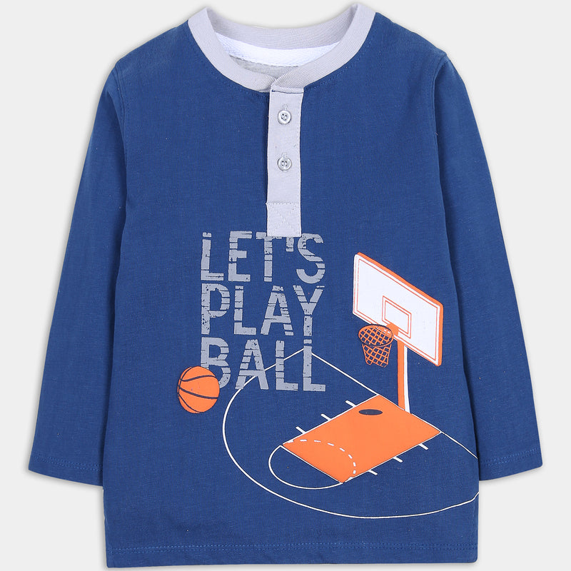 Blue Basketball Shirt