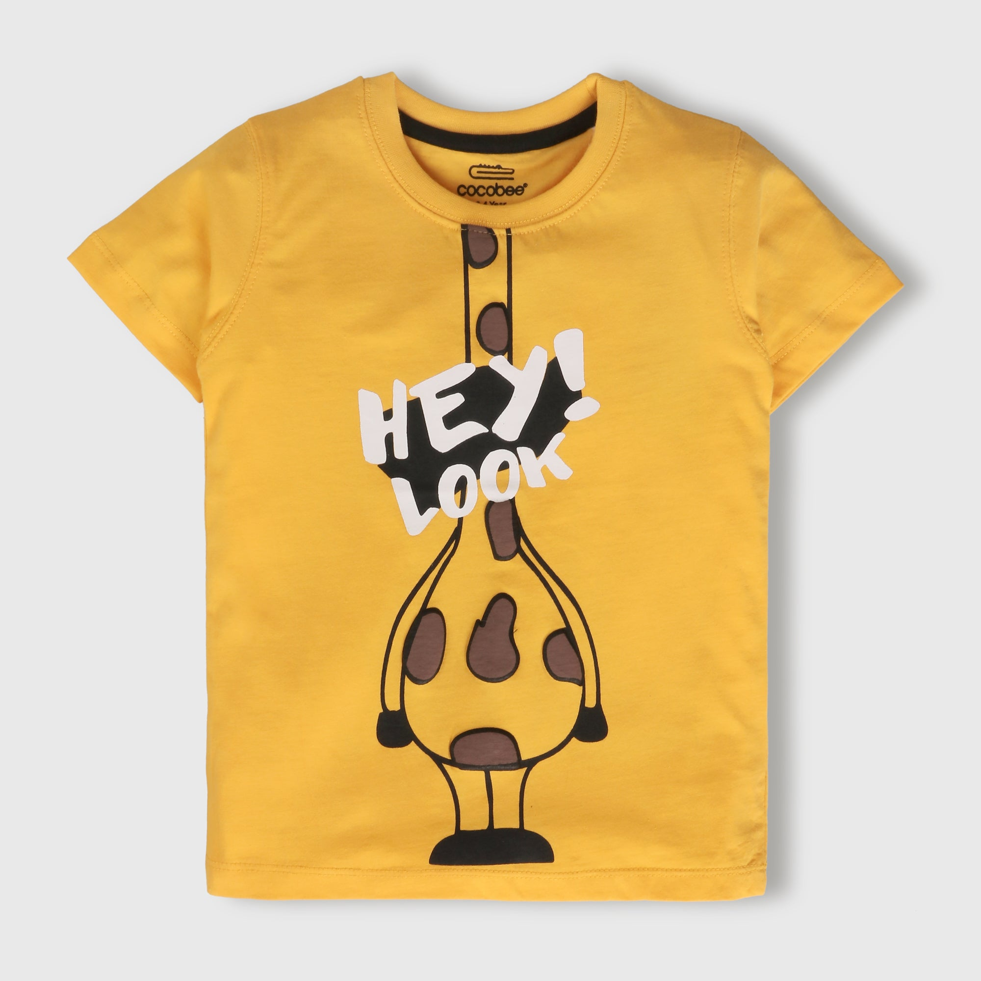 Yellow Giraffe T-Shirt