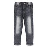 Fossil Grey Faded Denim