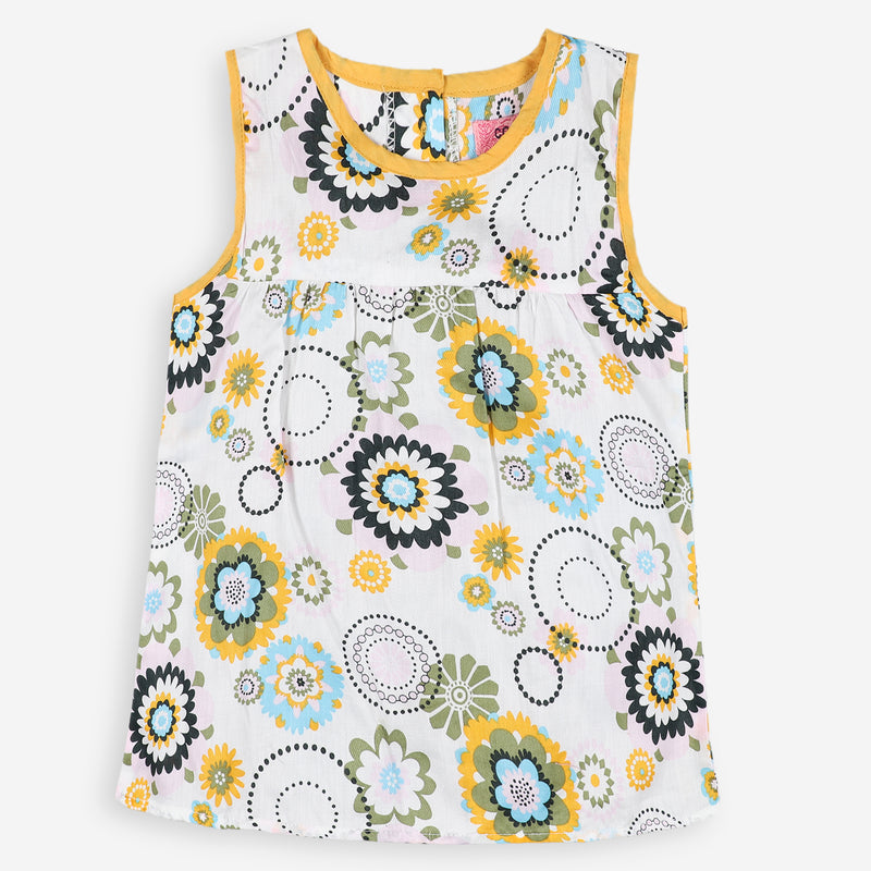 Sunny Florals Printed Top