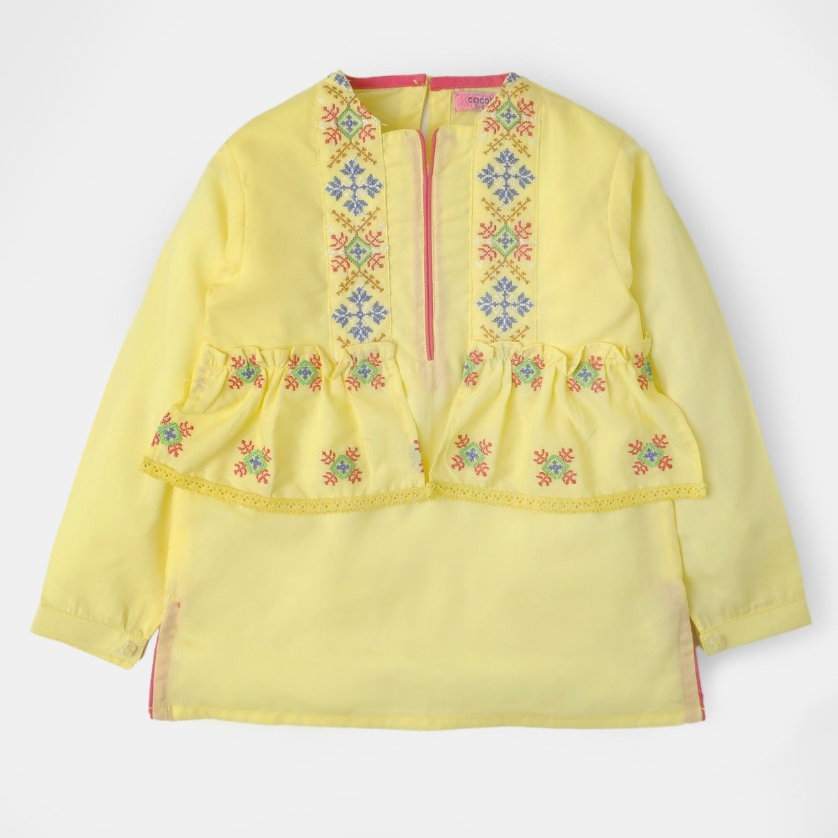 Summer Yellow Tunic