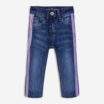 Pink Striped Denims