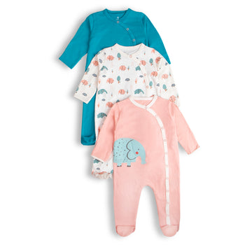 Elephants Romper Set