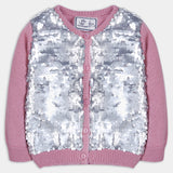 Pink Sequins Sweater