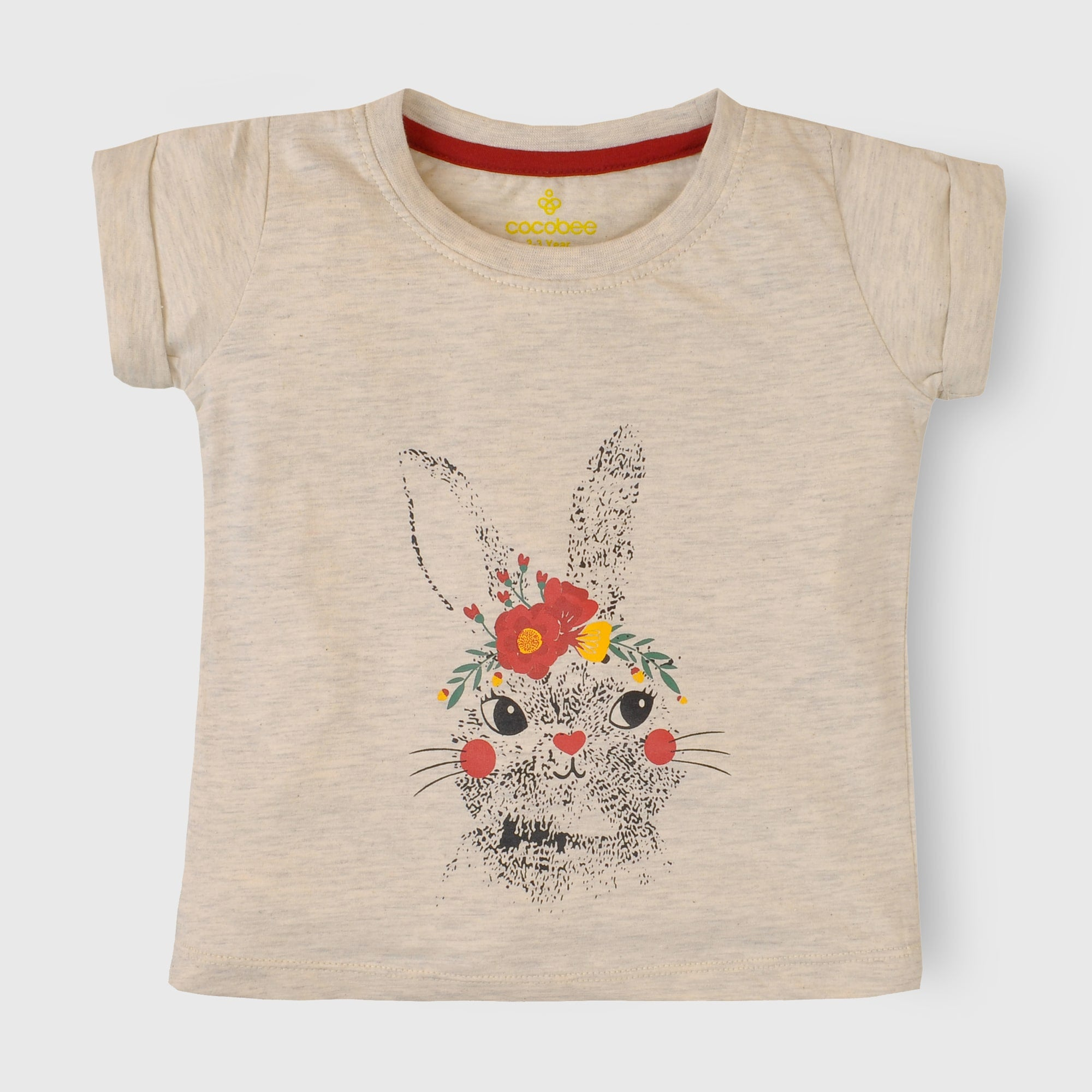 Girls Grey T Shirt