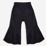 Black Pleated Culotte