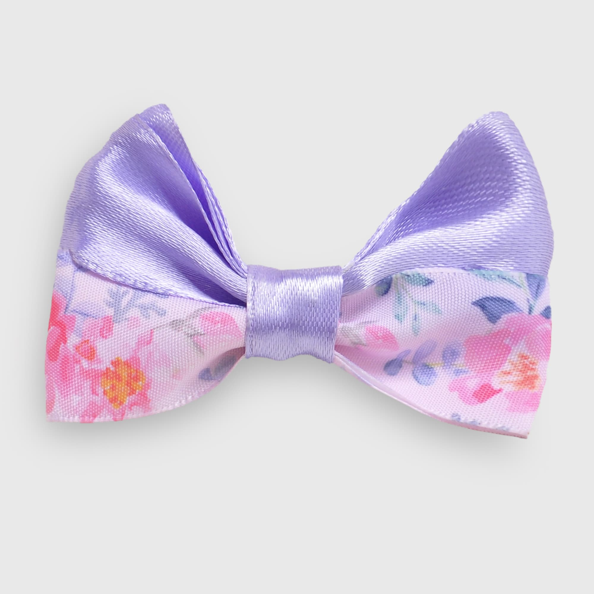 Purple Bow Hairpin