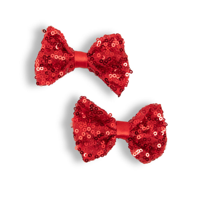 Red Sequins Pins