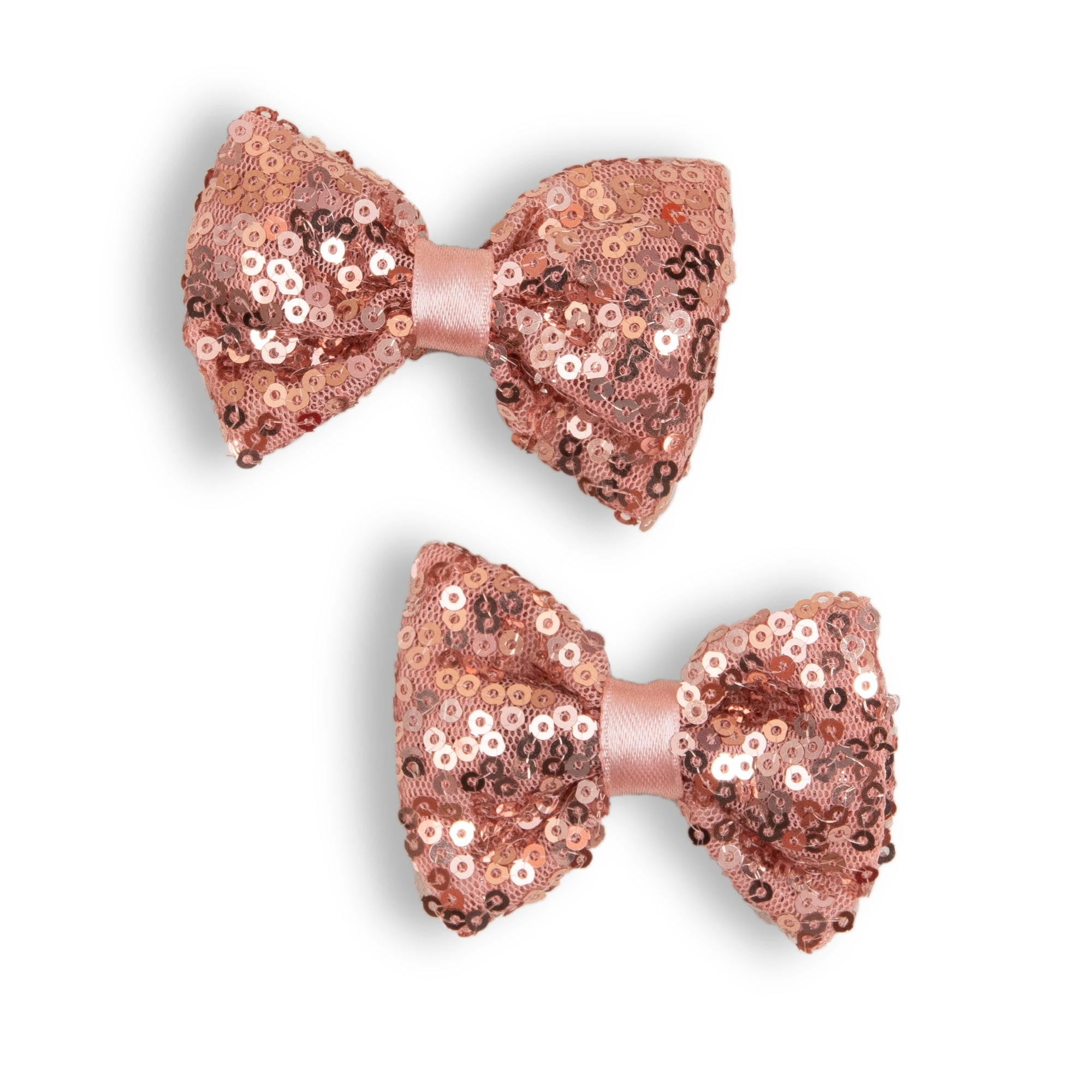 Peach Sequins Pins