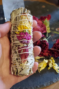 Smoke Cleansing Sticks - Daisy and Carnation