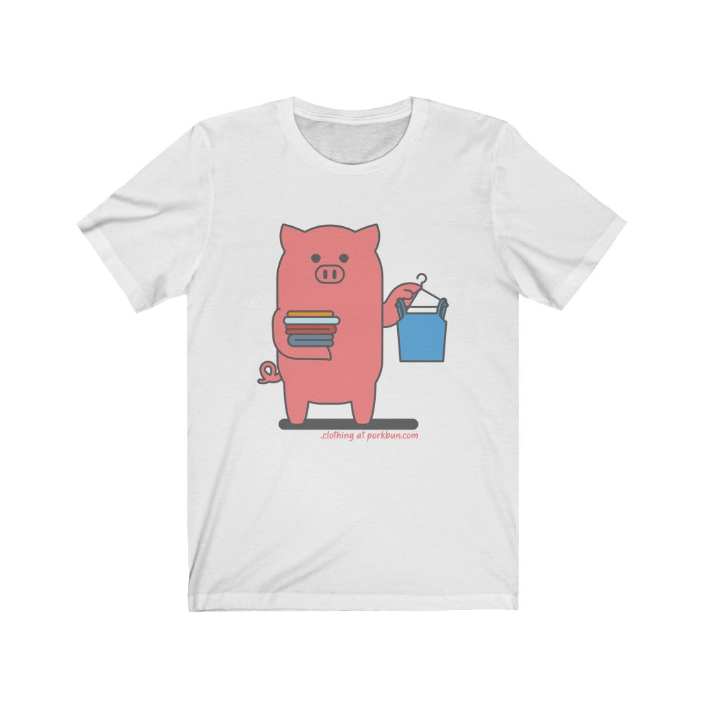.clothing Porkbun mascot t-shirt