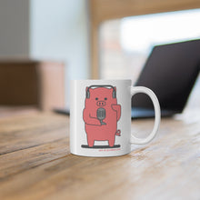 Load image into Gallery viewer, .am Porkbun mascot mug