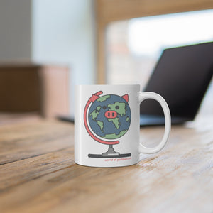 .world Porkbun mascot mug