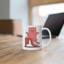 Load image into Gallery viewer, .fun Porkbun mascot mug