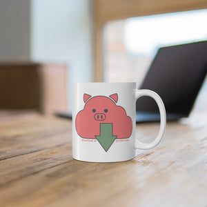 .download Porkbun mascot mug