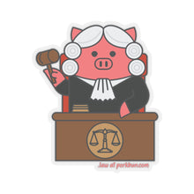 Load image into Gallery viewer, .law Porkbun mascot sticker
