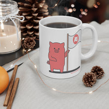 Load image into Gallery viewer, .land Porkbun mascot mug