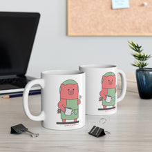 Load image into Gallery viewer, .garden Porkbun mascot mug