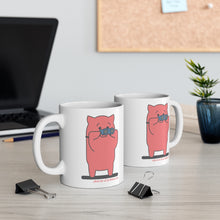 Load image into Gallery viewer, .observer Porkbun mascot mug