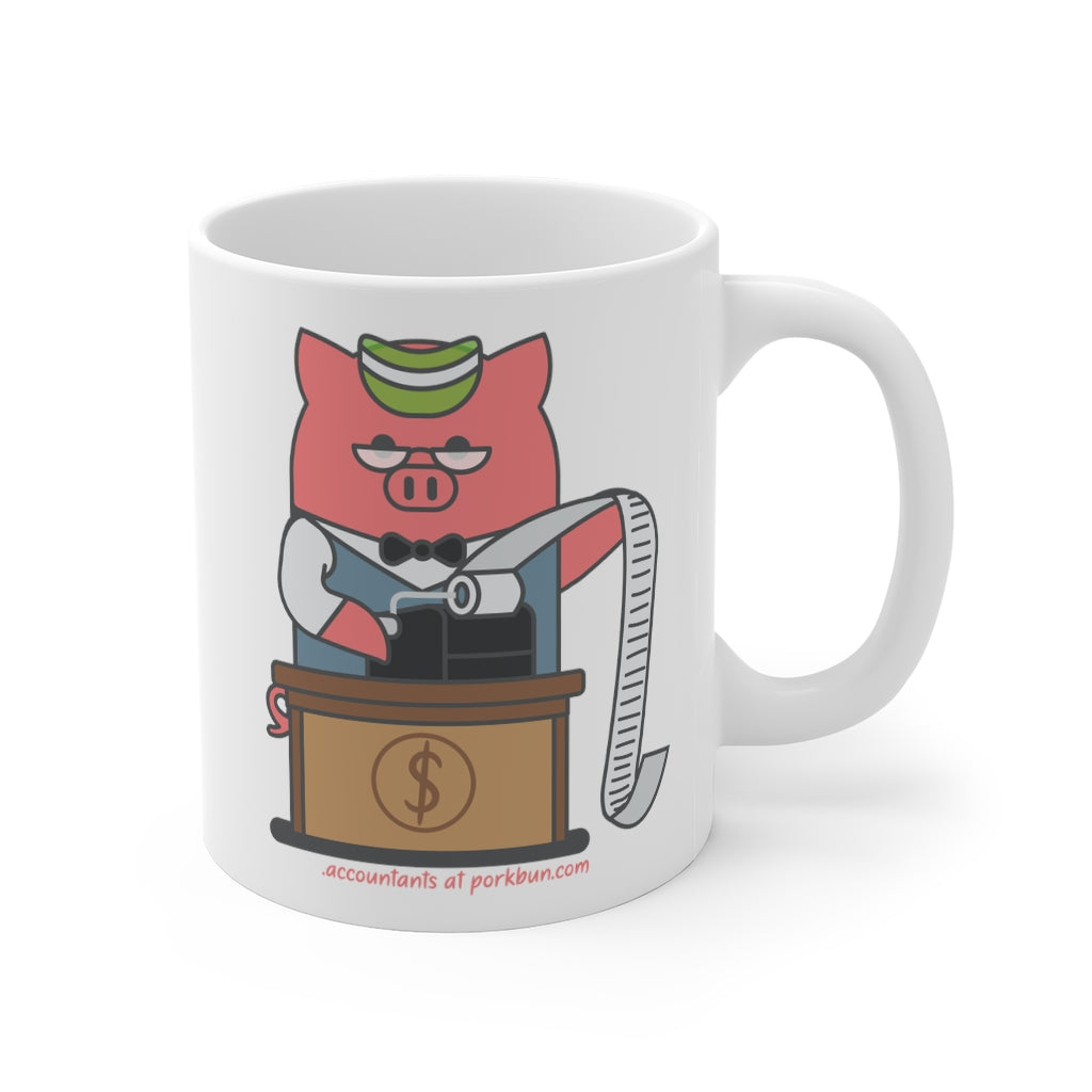 .accountants Porkbun mascot mug