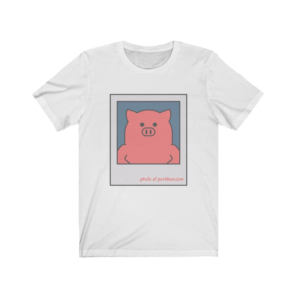 .photo Porkbun mascot t-shirt