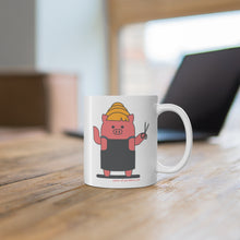 Load image into Gallery viewer, .salon Porkbun mascot mug