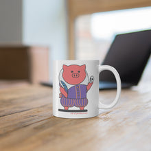 Load image into Gallery viewer, .ink Porkbun mascot mug