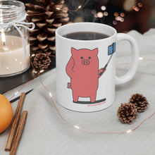 Load image into Gallery viewer, .pics Porkbun mascot mug