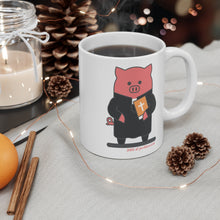 Load image into Gallery viewer, .bible Porkbun mascot mug