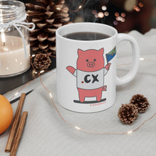 Load image into Gallery viewer, .cx Porkbun mascot mug