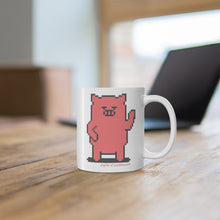 Load image into Gallery viewer, .digital Porkbun mascot mug