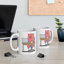 Load image into Gallery viewer, .work Porkbun mascot mug