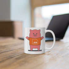 Load image into Gallery viewer, .co Porkbun mascot mug