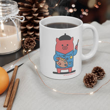 Load image into Gallery viewer, .art Porkbun mascot mug
