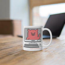 Load image into Gallery viewer, .computer Porkbun mascot mug