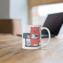 Load image into Gallery viewer, .cards Porkbun mascot mug