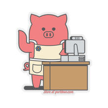 Load image into Gallery viewer, .store Porkbun mascot sticker