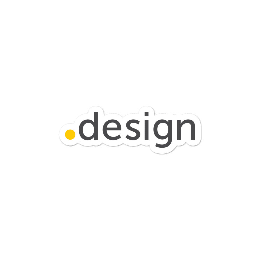 .DESIGN TLD Sticker