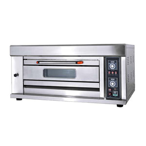 Gas One Deck Two Tray Oven with Inbuilt Stone HGB-20QS
